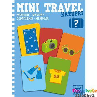 Mini Travel, Katupri Djeco memória utazójáték (5370, 4-8 év)