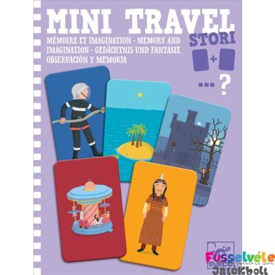 Mini Travel, Stori (Djeco történetszövős memória utazójáték, 5372, 4-8 év)