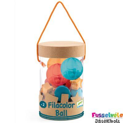 Filacolor Ball (Djeco kreatív fűzős fajáték - 6161, 27 db-os, 2-5 év)