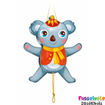 Függődísz, húzogatható,Koala (Djeco, 6471, bébiágy kiegészítő, 0-2 év)