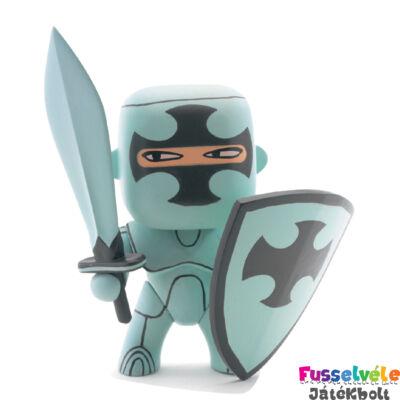 Arty Toys lovag, Silver (Djeco, 6700, játékfigura, 3-10 év)