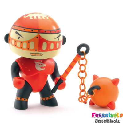 Arty Toys sárkány harcos, Vörös Óriás (Djeco, 6707, játékfigura, 3-10 év)