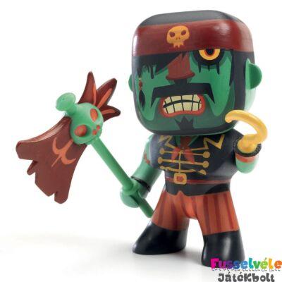 Arty Toys, Kyle (Djeco kalóz kapitány figura baltával és kampó kézzel - 6809)