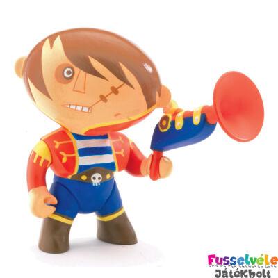 Arty Toys kalóz, Albatore (Djeco, 6810, játékfigura, 3-10 év)