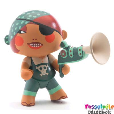 Arty Toys kalóz, Caraïba (Djeco, 6814, játékfigura, 3-10 év)