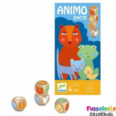 Animo Dice - Állatos kockajáték (Djeco, 8475, kockajáték, 4-10 év)