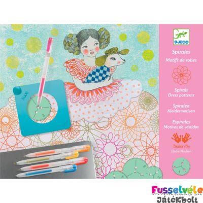 Spirál műhely (Djeco kreatív készlet lányoknak - 8737, 7-13 év)