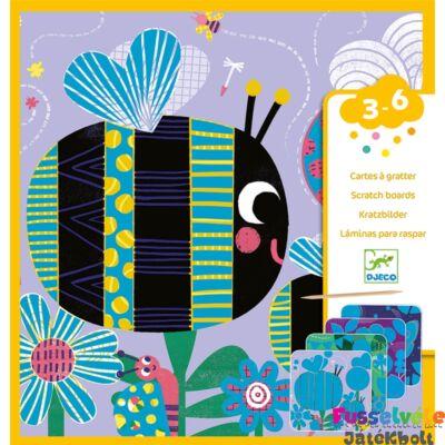 Karckép készítő kicsiknek, Bogárkák (Djeco, 9092, kreatív készlet, 3-6 év)