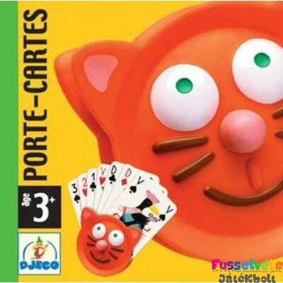 Kártyatartó (Djeco, 5997, kártya tartozék, 3-7 év)