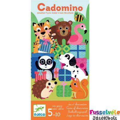 Cadomino, nyomkövetős domino (Djeco, 8549,  5-10 év)