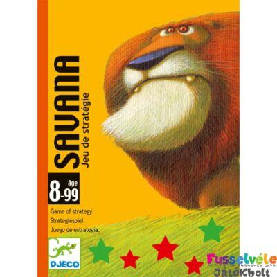 Savanna (Djeco, 5110, stratégiai kártyajáték, 8-99 év)