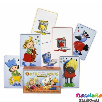 Kis királyfi és barátai - Der kleine König und seine Freunde - kártyajáték