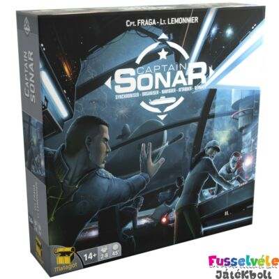 Captain SONAR (kooperációs torpedó társasjáték, 13-99 év)