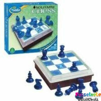 Szoliter sakk - Solitaire Chess (Thinkfun, egyszemélyes fejlesztő, 8-99)