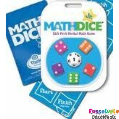 Math Dice Junior (Thinkfun, matekos játékos fejlesztő, 8-99)