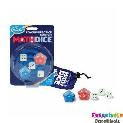 Math Dice Powers- Hatványok (Thinkfun, matgekos játékos fejlesztő, 8-99)