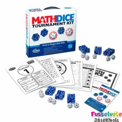 Math Dice Tournament Kit (Thinkfun, matekos játékos fejlesztő, 8-99)