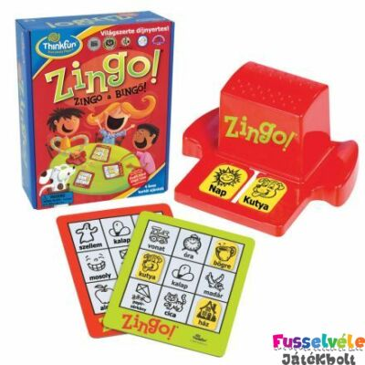 Zingo!, fergeteges bingo játék (Thinkfun, 4-8 év)