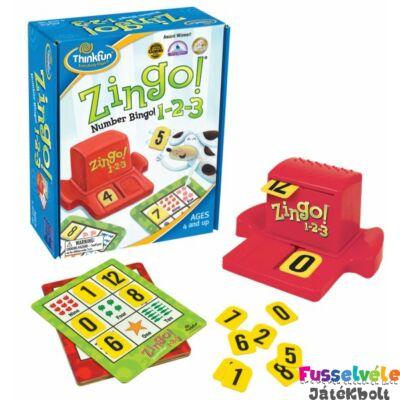Zingo! 1-2-3, Szám bingo (Thinkfun társasjáték, 5-12)