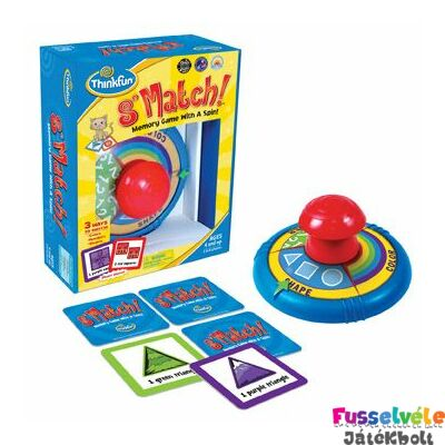 S'Match! Fergeteges memóriajáték (Thinkfun, 4-10 év)
