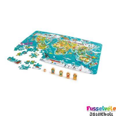 A világ körül, Hape puzzle és társasjáték egyben (5-10 év)