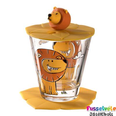 Gyerek pohár készlet 3 részes, Oroszlán (Leonardo, 3 éves kortól)