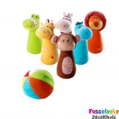 Szafari tekebábok (Lilliputiens, ügyességi játék, 1-3 év)