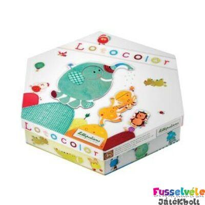 Lotocolor - játék formákkal és színekkel