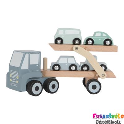 Autószállító kamion, Little Dutch fa szerepjáték (4453, 18 hó-5 év)