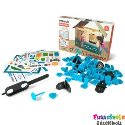 Karton építő, Játszóház (Makedo, kreatív építőjáték, 3-14 év)