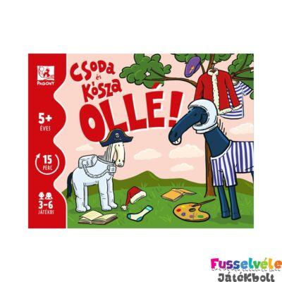 Ollé! Csoda és Kósza, családi kártyajáték (5-12 év)