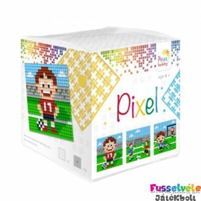 Pixelhobby, Kocka szett 3 kép, Foci (29007, 3db kis alaplap, 7-99 év)