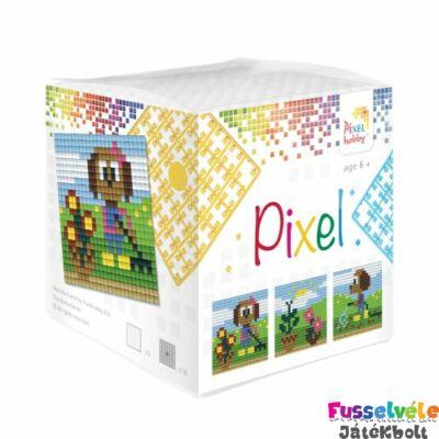 Pixelhobby, Kocka szett 3 kép, Kutyus (29012, 3db kis alaplap, 7-99 év)