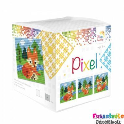 Pixelhobby, Kocka szett 3 kép, Rókák (29015, 3db kis alaplap, 7-99 év)