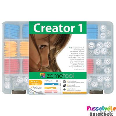 Zometool, Creator 1 (Tudományos építőjáték, kezdő alapkészlet, 6-99 év)