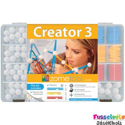 Zometool, Creator 3 (Tudományos építőjáték, családi készlet, 6-99 év)