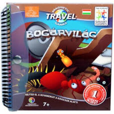 Magnetic Travel, Bogárvilág (Smart Games, mágneses útijáték, 5-99 év)