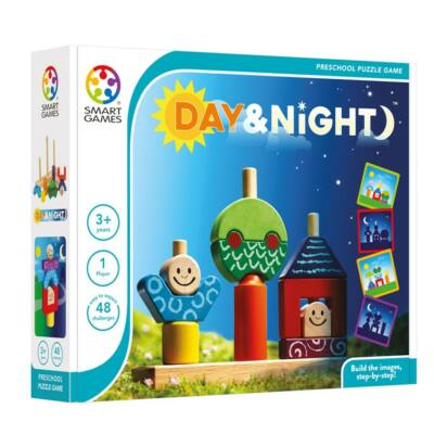 Day and Night (Smart Games, logikai játék kicsiknek, 2-5 év)