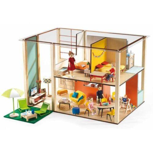 Modern babaház - Cubic House (Djeco szerepjáték, 7801, 3-10 év)