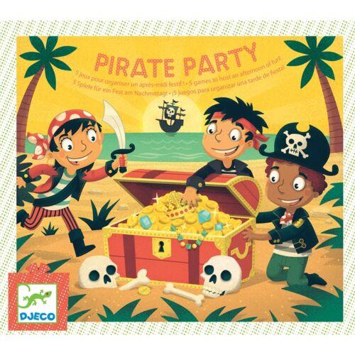 Társasjáték - Kalóz party (Djeco, 2095, parti társasjáték, 5-9 év)