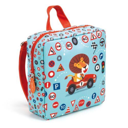 b3586918f48a Óvodás táska - Oroszlán (Djeco, 0252, ovis hátizsák, 2-5 év ...