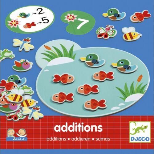 Eduludo - Additions (Djeco, 8312, fejlesztőjáték, 3-6 év)