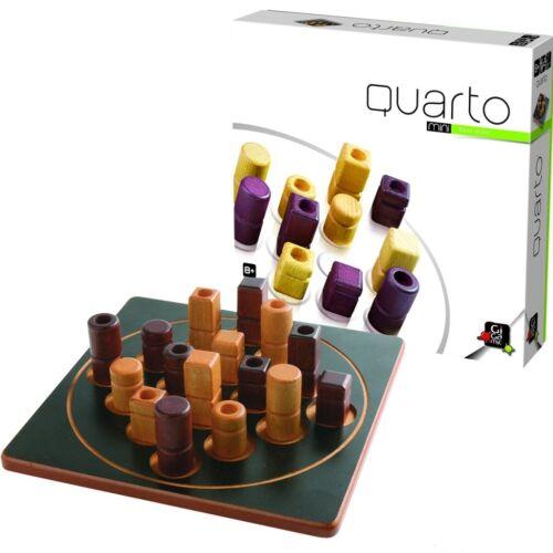 Quarto Mini (Gigamic, kétszemélyes stratégiai játék fából, 8-99 év)