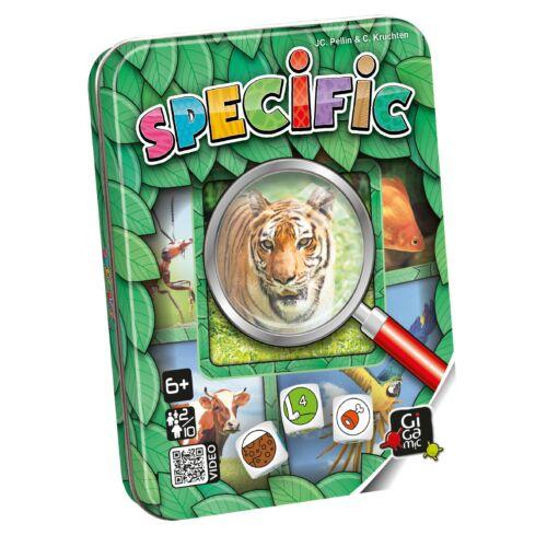 Specific (Gigamic, megfigyelős gyorsasági úti társasjáték, 6-99 év)