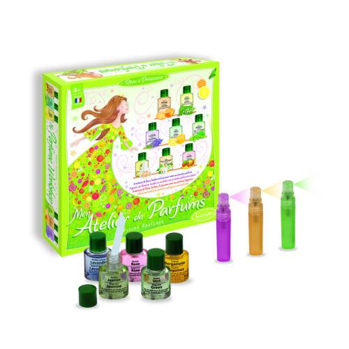 Parfüm készítő készlet, Virágok illata (Sentosphere, kreatív játék, 6-16 év)