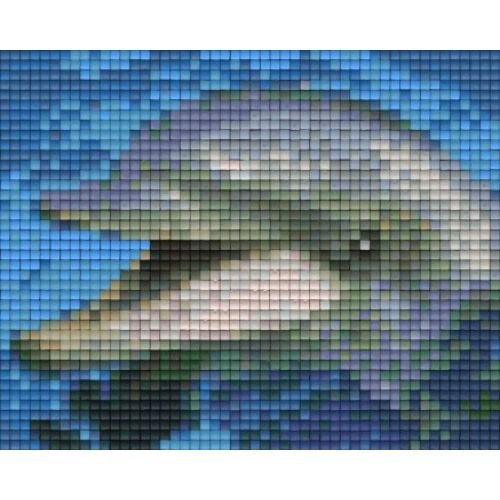 Pixelhobby képkészlet, DELFIN (1 alaplapos)