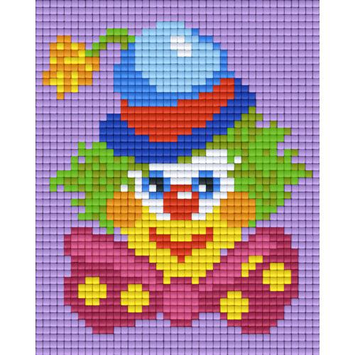 Pixelhobby képkészlet , BOHÓC (1 alaplapos)