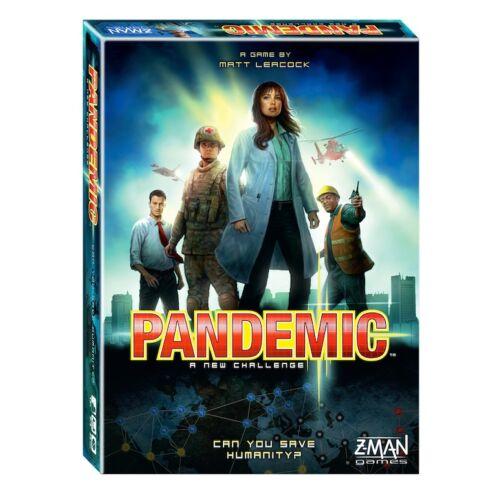 Pandemic (Kooperatív társasjáték, 8-99 év)
