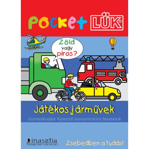 Pocket LÜK (zsebLÜK) - Játékos járművek + alaplap