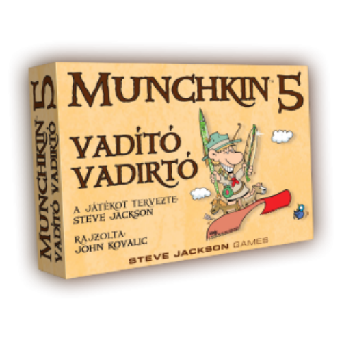 Munchkin 5 - Vadító vadirtók